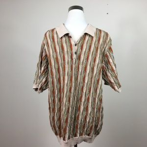 Weatherproof Cosby Coogi Style Short Sleeve Polo